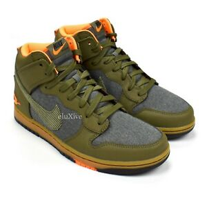 NWT Nike Dunk High CMFT PRM Swoosh Sporting Club Sneakers Men's 9 DS AUTHENTIC