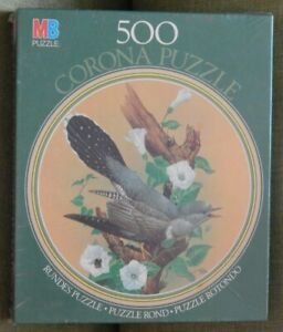 COCKOO  CORONA PUZZLE 500 piece MB PUZZLES 48cm new & sealed