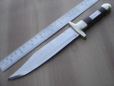 "10"" custom made hunting carbon steel double side edge knife blank blade 1191"