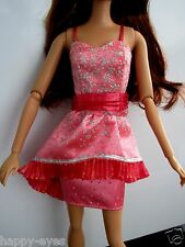 Barbie Doll Clothes/Shoes *Mattel Sparkly Dress * *New* #443