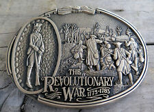 Revolutionary War Military Battle Award Design Medals 1980's Vintage Belt Buckle