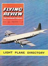 Flying REVIEW INTERNATIONAL MAGAZINE 1964 FEB ORION ASW ANSWER, MIRAGE 111R