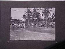 (n7364)   Foto Deutschostafrika 23x 16,5 cm Askari Exerzieren 1905, Aufnahm
