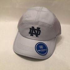 Notre Dame   Hat / Cap Hook & Loop Top of the World Gray