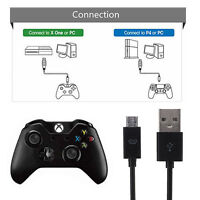 Micro USB Charging Power Cable for PS4 Xbox 3M 10ft on Wireless Controller GB