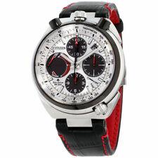 Citizen AV0071-03A Promaster Eco-Drive Tsuno Racer Leather Strap Chrono Watch