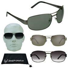 Mens Aviator Big Sunglasses Big Head Big & Tall Glasses Wide Large Face Metal XL