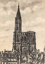 BT6503 Strasbourg la cathedrale face       France