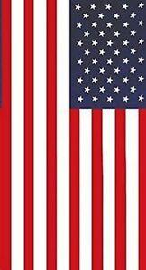 "USA American Flag beach towel new Large 30"" x 60"" stars stripes"