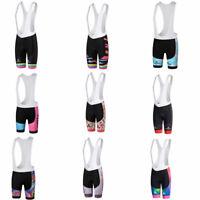 Miloto Ladies Padded Cycling Bib Shorts Women's Cycle Bike BIb Knickers Spandex