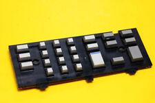 GRUNDIG SATELLIT 600 Radio Parts Repair - PCB Button Keys KEYBOARD