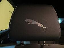 (4pcs) Headrest badge sticker decal XJ XJR XF F/X/S TYPE XK JAGUAR *LOGO*