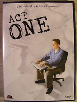 Act One (DVD, 2006) Independent Film