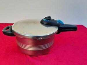 STEINBACH Schnellkochtopf  4,5 L RR22 18/10 Edelstahl Sandwich Bottom Druck