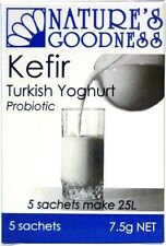 NATURE'S GOODNESS - KEFIR TURKISH YOGHURT PROBIOTIC 5 SACHETS + FREE SHIPPING