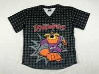 NEW Coyote Albuquerque Isotopes - Black Short Sleeve Shirt (Multiple Sizes)