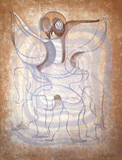 GENTILLI Jérémy - Lithographie originale signée - Le Grand Duc
