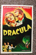 Dracula Movie Poster Lobby Card #3 Bella Lugosi