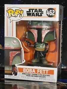 Funko PoP #462 Star Wars The Mandalorian Boba Fett Bobblehead Box is Damaged New