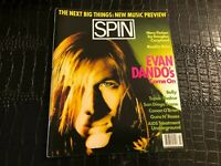 FEBRUARY 1994 SPIN music magazine  EVAN DANDO - TUPAC - GUNS N ROSES