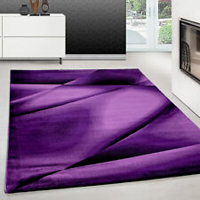 Teppich modern design teppich Rechteck Pflegeleicht Abstrakt Linien Lila