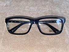 Prada EyeGlasses VPR06S 56-16 1AB-101 140 Black No Case