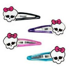Monster High- Barrettes/Hair Snap Clips-Party Favors (4ct)
