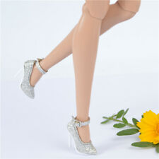 fit Jason wu integrity toys FR2 Nu Face 2 body doll shoes silver Sexy shoes root