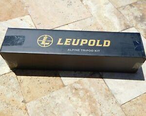 🌟🎈 LEUPOLD ALPINE CF-425 Tripod Kit Black/Shadow Tan 180380 🌟
