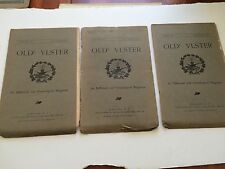 3 issues of OLDE ULSTER - Historical and Genealogical Magazine, 1906