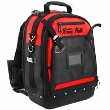 tough Jobsite Backpack Tool Storage Bag Heavy Duty Construction Book Bag