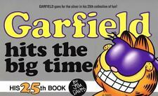 Garfield Hits the Big Time paperback book 25 Jim Davis FREE SHIPPING comic cat