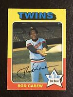 1975 Topps Rod Carew Card #600 VG-EX HOF Minnesota Twins
