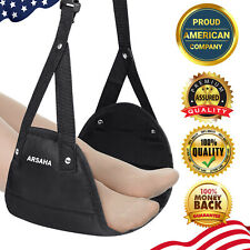 Airplane Footrest-Foot Hammock-Airplane Travel Accessories for office,Train, Bus