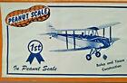 "13"" GIPSY MOTH Biplane Peanut Scale Balsa Model Airplane Kit Peck Polymers PP-11"