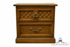 """DIXIE FURNITURE Italian Mediterranean Style 25"""" Two-Drawer Nightstand / Commo..."""
