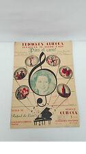 Antigua partitura ¡Para el carro! de Pelicula Cifesa La dolores 1939 Ed Quiroga
