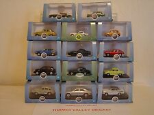 "OXFORD DIECAST, ""PICK N MIX"" CHOICE OF ANY 4 SALOON OR ESTATE CARS FROM LIST"