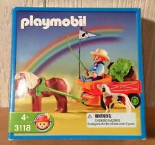 Playmobil 3118 Play Set - Farmer with Horse and Wagon
