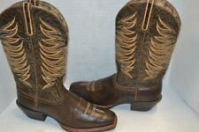 WOMENS ARIAT 6.5 B BURNISH BROWN LEGEND LEGACY PERFORMANCE WESTERN BOOT 10017383