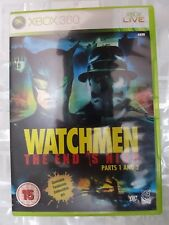 XBOX 360 WATCHMAN THE END IS NIGH PARTS 1 & 2 - XBOX360 MICROSOFT