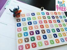 PP035 -- Little Pills Icons Life Planner Stickers for Erin Condren (77pcs)