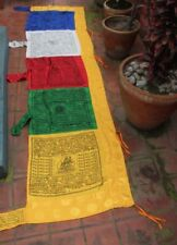 High Quality Silk Vertical Pole Tibetan  Prayer Flags
