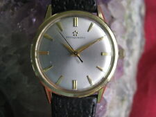 Vintage Eterna-Matic 14K Gold Wrist Watch, ca 1960s