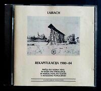 LAIBACH Rekapitulacija 1980-84 GERMANY CD WALTER ULBRICHT SHALLFOLIEN