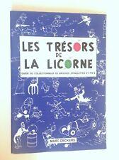 RARE Les trésors de la licorne Pin's Tintin  Guide argus