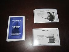 Replacement Disney Monopoly cards Mickey + Tinkerbell chance property + utility
