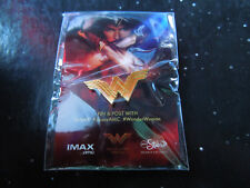 BRAND NEW NIP Wonder Woman IMAX AMC Stubs Promo Pin Gold Emblem