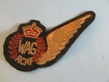 WWII RCAF Wireless Air Gunner 1/2 Wing (issued 1943)