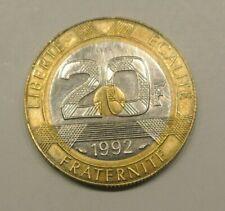 RARE ESSAI 20 FRANCS MONT SAINT MICHEL 1992
